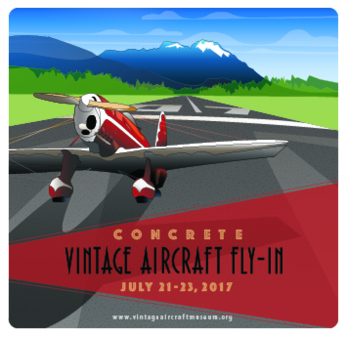 Concrete Fly-in poster