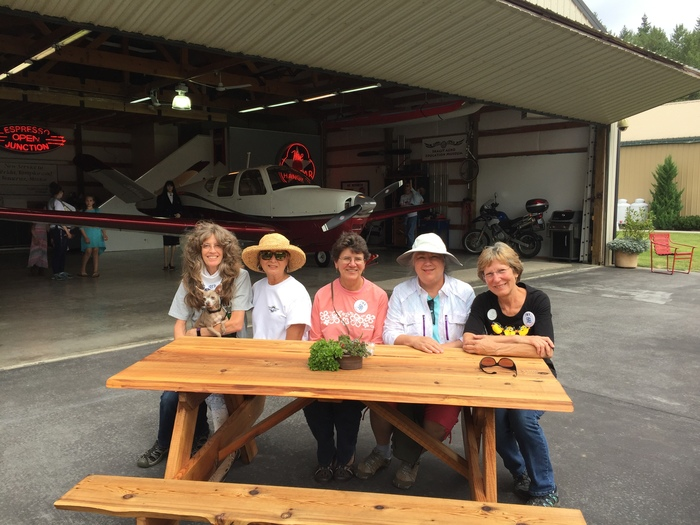 99s attend the Concrete Fly-In in 2017
