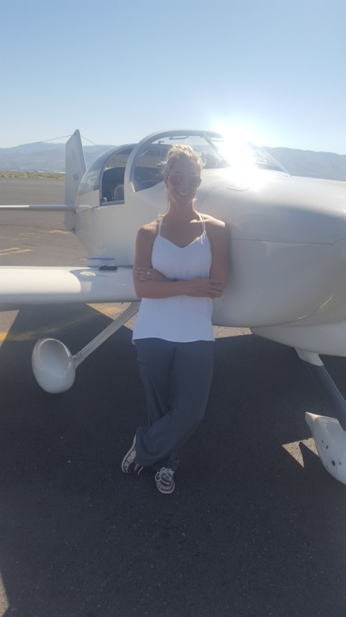 Laura with Aero