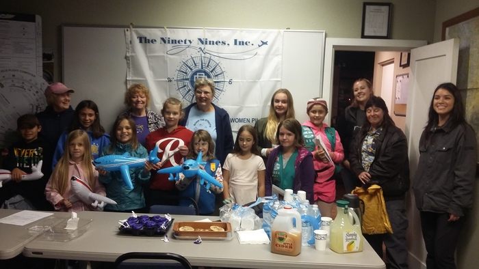 Girl Scouts at Mount Tahoma chapter's event